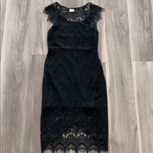Free People black lace dress